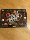 2012 Panini CROWN ROYALE Football New Unopened Factory Sealed Hobby Box - Wilson