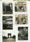 19 Vintage photo lot Instant B  W POLAROID Images OLD SNAPSHOTS 1960s