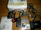 PENTAX OPTIO S 4.0MP Digital Camera METAL +2xBatteries + charger+LEADS ,CASE,BOX