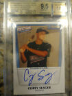 2011 Bowman Perfect Game Auto 235 Corey Seager BGS True Gem 9.5 10