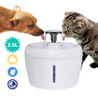 LED Automatic Pet Water Fountain Dog Cat Electric Drink Dispenser Bowl  Filters
