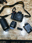 Used Nikon D7200 242 MP Digital SLR Camera with 2 Zoom Lenses