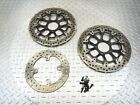 2008 08-11 Ducati 848 Superbike Front Rear Disc Brake Rotor Straight Bolts