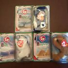 lot of 3  Ty Beanie Baby Legends Chilly, Humphrey Royal Blue Elephant