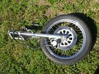90 YAMAHA VIRAGO 535 XV535 FRONT END FORKS SUSPENSION WITH TIRE