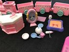 Barbie - Kelly Tommy Doll Lot Train & Accessories