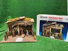 Vintage SEARS NATIVITY SET from Italy 1995 Stable and 9 Figurines 97887