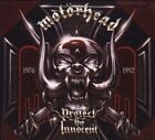 MOTORHEAD-PROTECT THE INNOCENT. COMPLETE 4-CD/BOOK/RARE LIMITED EDITION BOX SET!