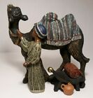 Mahogany Miracle Parastone Nativity Replacement BOY WITH CAMEL 8 Enesco
