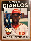 Gary Sheffield Rookie Cards and Autographed Memorabilia Guide 18