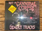 Best of Cannibal Corpse Deadly Tracks South Korea Rock Records & Tapes CD NEW