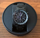 BRAND NEW MARVEL CITIZEN ECO-DRIVE BLACK PANTHER CHRONOGRAPH WATCH CA0297-52W