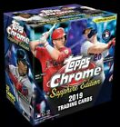 2019 Topps Chrome Sapphire Edition Online Exclusive SEALED HOBBY BOX