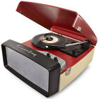 Crosley Collegiate Portable USB Turntable w Built In Speakers CR6010A RERed