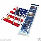 Valley Forge US FLAG 3 X 5 American USA Flag Set Kit WITH POLE
