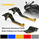CNC Aluminum Clutch Brake Folding Lever Handle Fit For Motorcycle ATV Dirt Bike