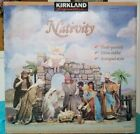 Kirkland Signature 22 Piece Nativity set CRECHE DE NOEL  224739 Huge set NIP