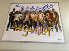 The Sandlot 11 X 14 Photo Signed By (7) Members Of The Cast! W Beckett COA!