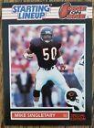 1989 Starting Lineup Card Only Mike Singletary Chicago Bears One on One Card