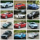 Lots 124 Welly Diecast Car ModelAsten Martin Audi R8 Porsche Ford JAGUAR Benz