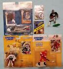 Starting Lineup Figure Lot. Bo Jackson, Patrick Roy, Paul Coffey, Ray Lankford