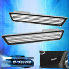 Dodge Challenger 08-14 Chrome Housing White Led Rear Bumper Side Marker Lights