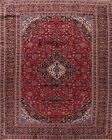 Vintage Floral Traditional Hand Knotted Classic Wool Area Rug Oriental 10x13 RED