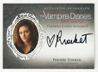 2016 Cryptozoic Vampire Diaries Season 4 Trading Cards 17