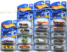 16pc Hot Wheels 2001 First Edition Cars Diecast Lotus+Panoz Roadster+Morris++NOC