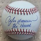 """Andre Dawson """"The Hawk"""" Expos Cubs Autographed Baseball JSA Witnessed"""