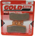 MZ Baghira Forest 660 Enduro Brake Disc Pads Front R/H Goldfren 1999-2001