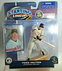 2001  TODD HELTON - Starting Lineup (2) - SLU - Figure & Card - COLORADO ROCKIES