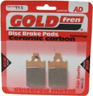 Piaggio Free Delivery 50 Brake Disc Pads Front R/H Goldfren 2000-2001