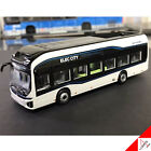HYUNDAI ELEC CITY 1 87 Scale Korea Truck  Bus Die Cast Miniature White Car