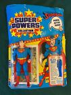 1985 Super Powers Collection Kenner Super Man No 99610 UNPUNCHED New 23 Back GM