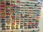 RARE - Hot Wheels (108 - Vehicles) w/ Mirrored Display Case Wall Cabinet!