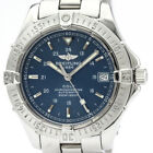 Polished BREITLING Colt Automatic Steel Automatic Mens Watch A17350 BF507782