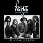 SPLIT IMAGE CD - Sign Of Aggression  1984-1994  HAIR METAL / MELODIC HARD ROCK