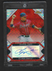 2006 TOPPS FINEST RED XFRACTOR AUTOGRAPH CHIPPER JONES RARE SP AUTO # 25 1:104
