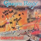 GINGER ROXX CD - Caught in the Act  1989  RARE HAIR METAL / GLAM / SLEAZE  indie