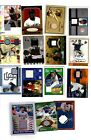 15 Hof game used autograph lot Willie Mays Frank Thomas Johnny Bench more