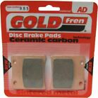 Suzuki VS 1400 GLP-W Intruder  VX51L  Brake Disc Pads Front R/H Goldfren 1998