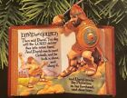 Hallmark Ornament 1999 Favorite Bible Stories #1 David and Goliath QX6447 New!