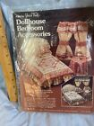 YOURS TRULY VINTAGE DOLLHOUSE BEDROOM ACCESSORIES KIT, bed, Curtains And Nitstd