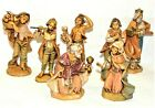 Lot of 7 Fontanini Depose Nativity Figures Simonetti Very Very Excellent