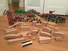 Huge Lot of Wooden Thomas the Train & Friends Trains, Tracks and Accessories