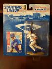1997 Mike Piazza Los Angeles Dodgers Starting Lineup in pkg with Baseball Card