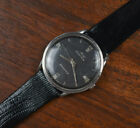 Vintage MIDO Ocean Star Stainless Steel Automatic Leather Band Men's Wat