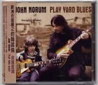 John Norum: Play Yard Blues (2010) Europe / CD OBI TAIWAN