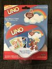 Care Bears UNO Card Game Deluxe Collectors Tin 2004